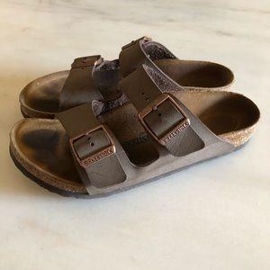 Birkenstock Shoes - BIRKENSTOCK ARIZONA Mocha Two strap sandals